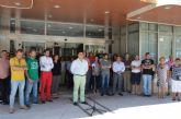 El Ayuntamiento de San Javier guardó un minuto de silencio en solidaridad con las víctimas del atentado terrorista en Estambul