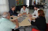 Reunión del director general de Carreteras con el alcalde de San Javier