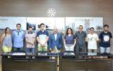 Pladur premia el pabellón traslúcido y permeable de dos estudiantes de Arquitectura de la UPCT