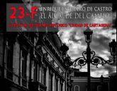El Parque Torres acoge este viernes el estreno de 23.F. Enrique Escudero, el alcalde del cambio