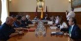 La Comunidad destaca la importancia del puerto de Cartagena en el impulso de las infraestructuras logísticas de la Región