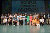 El mejor deporte cartagenero brilla en El Batel