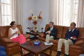 Principales peticiones de la Alcaldesa al Consejero de Agricultura en su visita a Archena
