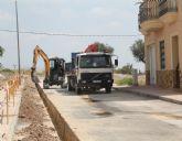 El Ayuntamiento de Puerto Lumbreras ejecuta obras de mejora en la red de abastecimiento de agua