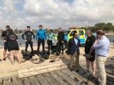 La Comunidad colabora con la Policía Nacional en un curso de formación para actuar en emergencias en el medio acuático