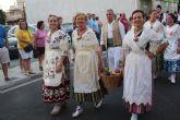 Los pinatarenses ofrecen frutos de la huerta a su patrón San Pedro