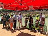 Decenas de voluntarios plantan más de 300 árboles y especies vegetales de ribera con motivo del Día mundial del árbol