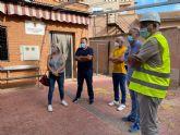 La rehabilitación del centro de mayores de Jerónimo y Avileses estará lista después de verano