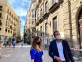 Murcia no tendrá toldos en sus calles este verano por la inacción del nuevo gobierno socialista