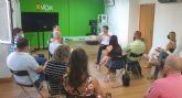 VOX pone en marcha el programa para ganar las elecciones municipales en Murcia