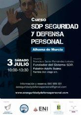 Inscr�bete en el curso SDP Seguridad y Defensa Personal de este s�bado 3 de julio