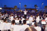 La banda de música de Molina de Segura cierra este domingo los IV veranos musicales Villa de Mazarrón