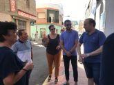 'Sombras en Azul' en las calles de Torre Pacheco