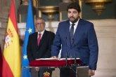 López Miras ofrece un gobierno sólido que garantice a la Región un futuro de progreso, esperanza y concordia