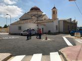 Finalizan las obras de pavimentación en el centro urbano de El Jimenado