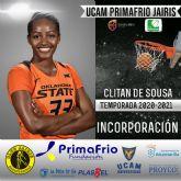 Clitan de Sousa nueva incorporación del UCAM Primafrio Jairis de LF2