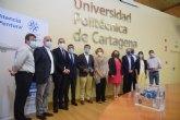 FREMM y Tecsumaga entregan a la UPCT el primer respirador sanitario para enfermos de coronavirus