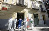 Tres brigadas especializadas rematan la desinfección del museo Ramón Gaya