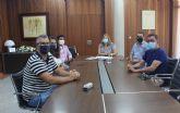 Visitación Martínez, recibe a los emprendedores pinatarenses del Programa de aceleración empresarial del INFO