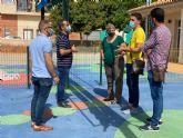 Mejoras en el parque infantil del CAI de Balsicas