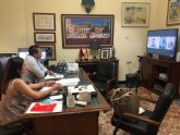 El Alcalde y la Concejala de Turismo se reúnen con el Director de Turismo de la Región de Murcia