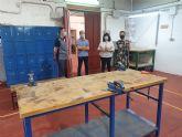 El Ayuntamiento adapta la Escuela Taller a las distancias de protección exigibles ante la situación de pandemia por la COVI-19