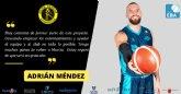 Adrián Méndez se une al proyecto del Hozono Global Jairis de Liga EBA