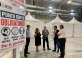 El Ayuntamiento de Lorca informa de la realización, este viernes 30 de julio, de un cribado masivo mediante test de antígenos a la población de entre 14 a 39 años en IFELOR