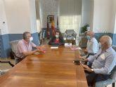 La presidenta de la Autoridad Portuaria de Cartagena recibe a la Plataforma del Ferrocarril de la Región de Murcia