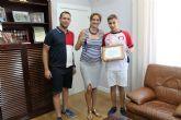 Reconocimiento al joven nadador archenero Enrique Pagán, Campeón de España de 200 metros braza