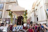Barrios y diputaciones arroparon la nueva imagen de San Ginés en su tradicional romería