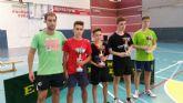 20 jugadores de equipos regionales y nacionales participan en la I concentración de tenis de mesa 'Playas de Mazarrón'