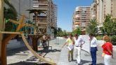 El Ayuntamiento ultima un nuevo circuito infantil adaptado a los más pequeños en la Avenida de la Libertad