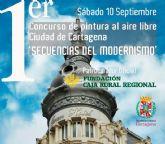 El Modernismo centrará el primer concurso de Pintura al Aire Libre Ciudad de Cartagena