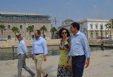 La consejera de Presidencia y el presidente de la Autoridad Portuaria avanzan en cuestiones de seguridad y emergencias