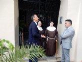 Cultura finalizará en breve las actuaciones de rehabilitación de la fachada del Monasterio de Santa Clara la Real de Murcia