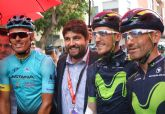 El presidente asiste a la etapa Caravaca Año Jubilar 2017-ElPozo Alimentación de la Vuelta Ciclista a España