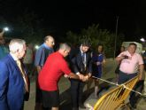 López Miras asiste a la 'cohetada' con motivo de las fiestas patronales de Ojós