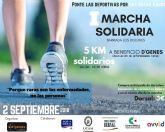 El próximo 2 de septiembre tendrá lugar en el barrio cartagenero de Los Dolores la I Marcha Solidaria a beneficio de D´Genes