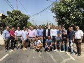 Los vecinos de la Vereda del Capitán (Puente Tocinos) y Los Zapatas (El Raal) estrenan red de agua y saneamiento