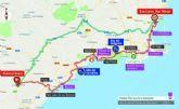 La Vuelta Ciclista a España recorrerá el jueves 43 kilómetros del municipio de Cartagena