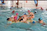 Clausura de las piscinas de verano de la Concejalía de Deportes en las que han participado mil niños