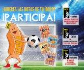 ELPOZO ALIMENTACI�N sortea cinco pares de botas de f�tbol de la mano del �lbum Oficial de La Liga