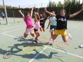 Inicio del curso de la Escuela de Tenis del C. T. Totana