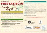 Un concurso de Pesca en Seco y otro de Cocina Popular 'Tipo Tapa', principales actividades de las Fiestas de Santo Ángel
