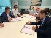 El Ayuntamiento firma el convenio de resolución del contrato de la obra del Museo Paleontológico