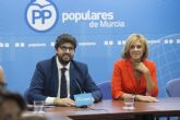 La Junta Directiva del Partido Popular  elige por aclamación a López Miras como presidente regional