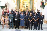 La Policía Local de Puerto Lumbreras conmemora el día de sus patronos y homenajea a tres agentes por su jubilación