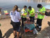 La Unidad de la Policía de Playas cierra una temporada estival marcada por la Covid-19