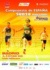 LXVII Campeonato de España al Aire Libre Madrid, sede del Nacional Sub20